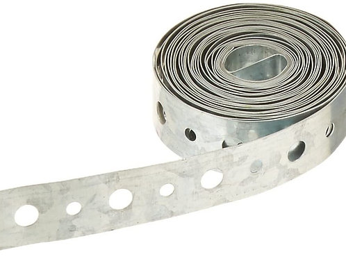 "Galvanized Pipe Strapping 3/4"" x 100'"