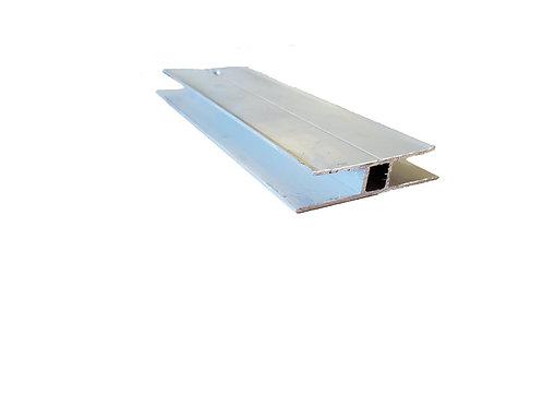 "Large ""H"" Aluminum Extrusion x 24'Long"