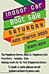 Village event in Poppleton