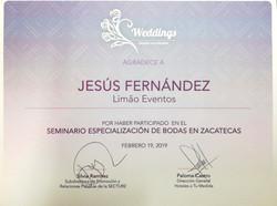 Especialización bodas Zacatecas