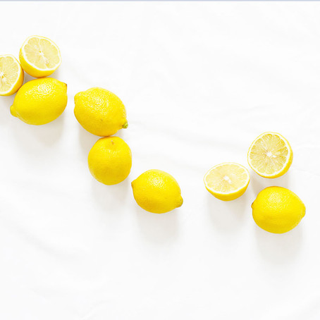 When life gives you lemons.....6 healthy benefits from lemon water