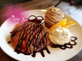 Happyになれるパンケーキ!?