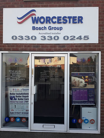 Worcester Bosch Accredited Installer Central Heating Hub