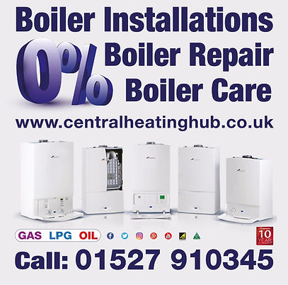 0% Interest FREE Boiler Finance!