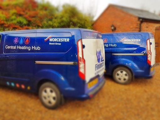 Central Heating Hub Vans!