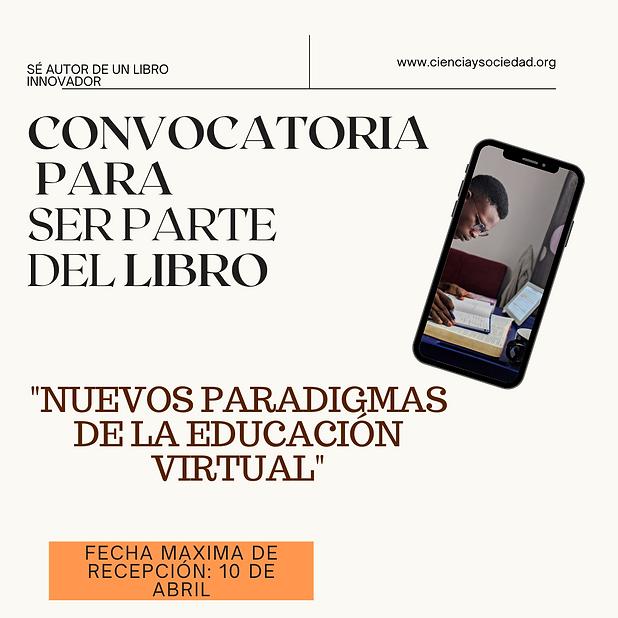 CONVOCATORIA PARA SER PARTE DEL LIBRO (1