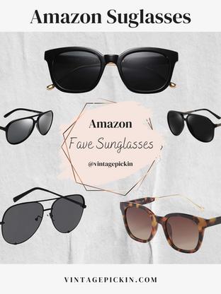 Fave Amazon Sunglasses