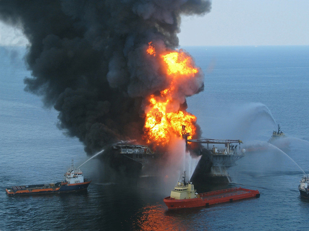 The Deepwater Horizon that failed in 2013 when an uncontrollable blowout caused an explosion that killed 11 crew. The failure was the result of a poor safety culture that effectively ignored known failure mechanisms.