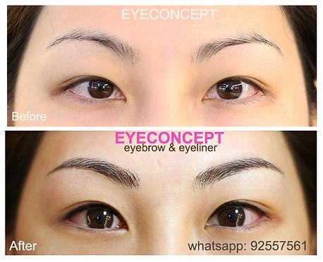 20sep2015 EyeConcept 4D立體飄眉 4D韓式飄眉 立體飄眉