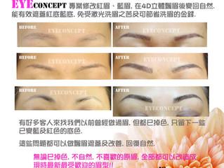 Eye Concept << 改紅藍的立體飄眉 >>