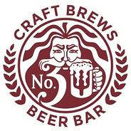 no.3 craft brews beer bar