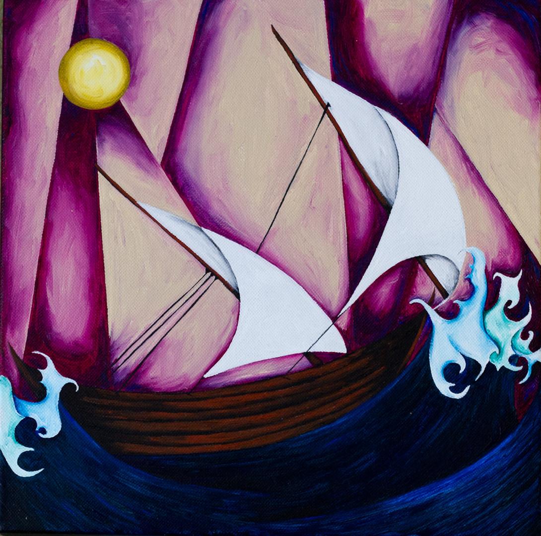 sail away 12X12
