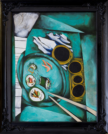 Sushi Plate 24x26