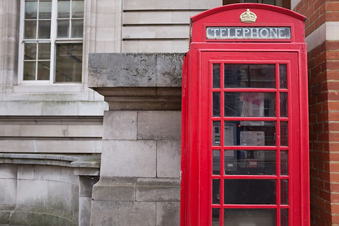 london old phone booth