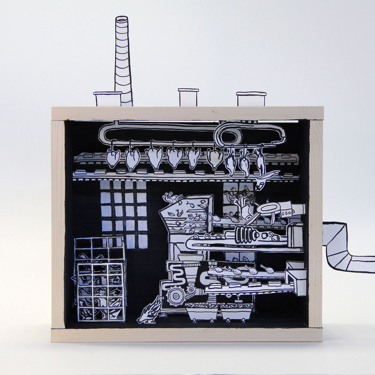 2016_Papercut_3D_Woodbox_Farming_Doro_Spiro
