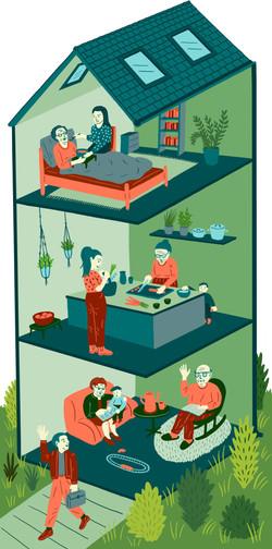 Editorial Illustration Doro Spiro