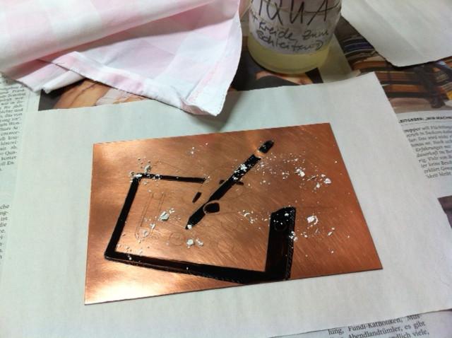 Radierung / Etching