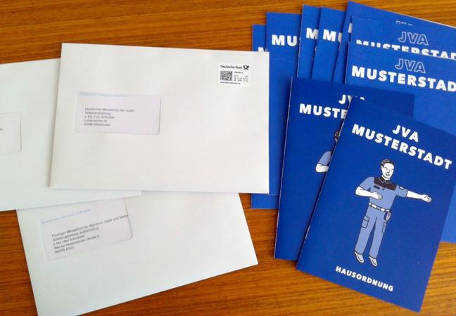 Booklets for JVAs in Germany