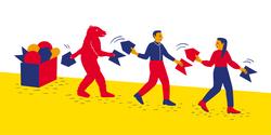 Illustration Verwaltungsprozesse