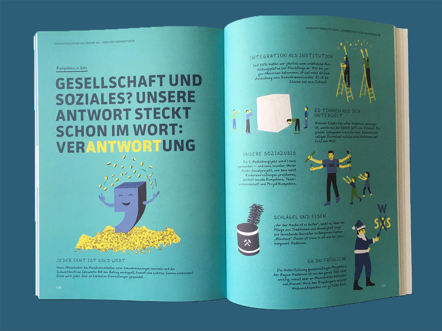 salt illustration business report