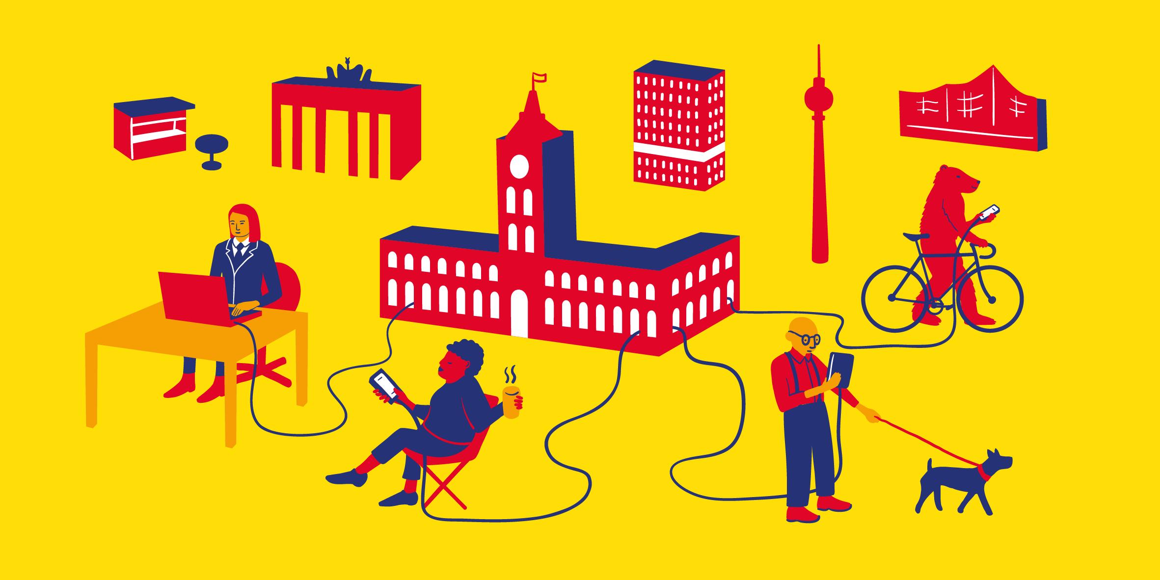 Illustration E-Government