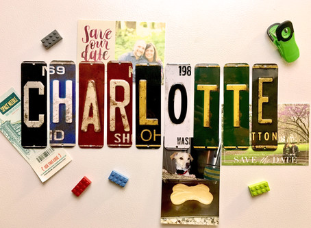 DIY License Plate Magnets