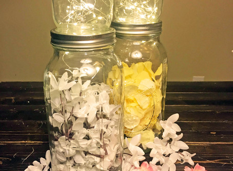 LED String Light Mason Jars