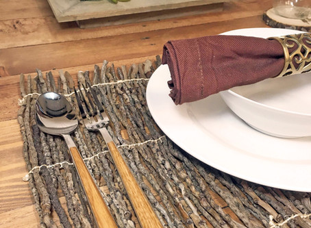 Coconut Twig Placemats & More
