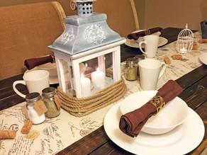 Elegant Country Dining