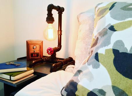 Gas-Pipe Edison Lamp