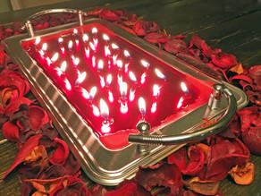 DIY Tea-Light Candle Centerpiece