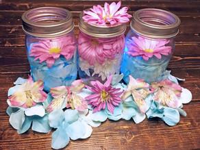 Floating Flower Jars