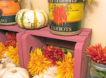 Autumn Harvest Display