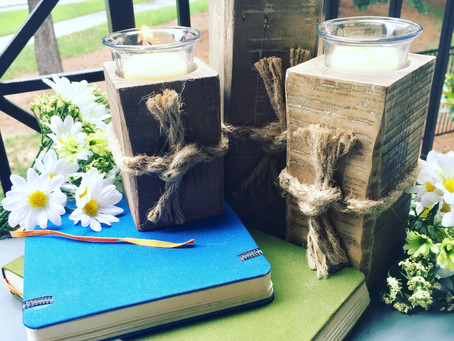 Rustic Candle Holder(s)