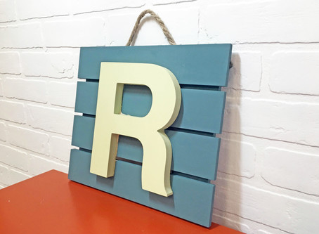 Wood Sign for Under $10