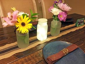 DIY Mason Vases