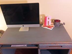 DIY Desk Refinishing