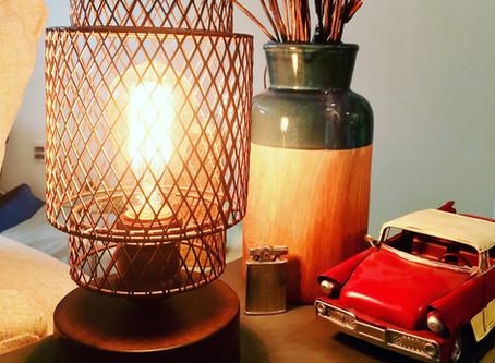 Rustic Edison Lamp