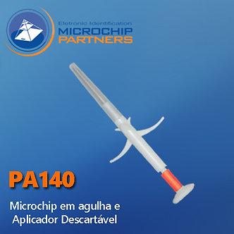 Microchip - Kit com aplicador descartável, certificado e microchip