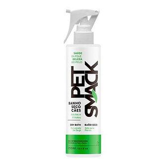 Spray Banho Seco Cães Pet Smack Centagro 250ml