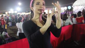 Acessibilidade no Festival Halleluya