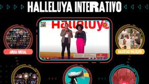 Espaço INTERATIVO: novidade no Halleluya 2021