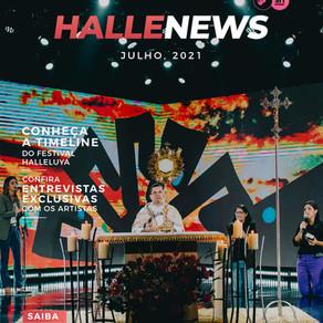 HalleNews: Confira a revista oficial da edição online 2021