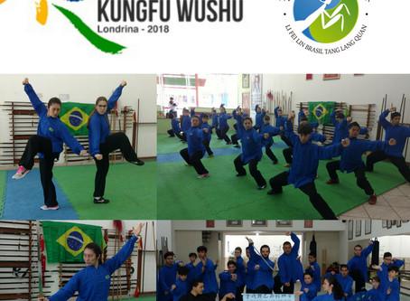 Atletas da Li Fei Lin Brasil participarão do Campeonato Brasileiro.