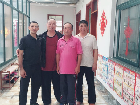 Treinamento na China - Shifu Luiz