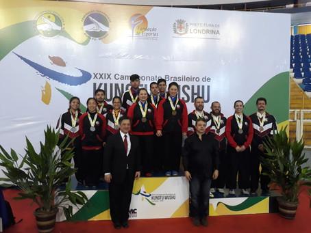Atletas da Li Fei Lin Brasil representaram brilhantemente o Estado de São Paulo no 29° Campeonato Br