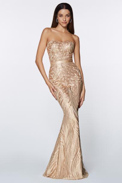 Mignon Manley Stunning Sequin Gown