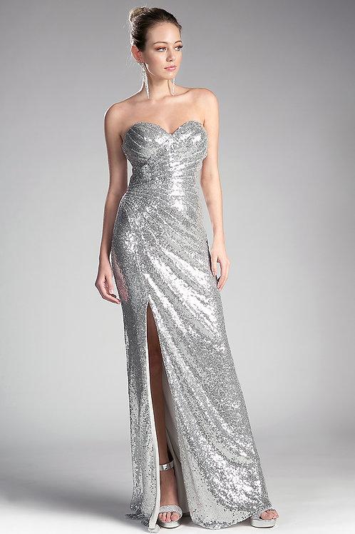 Sleeveless Elegant Evening Gown