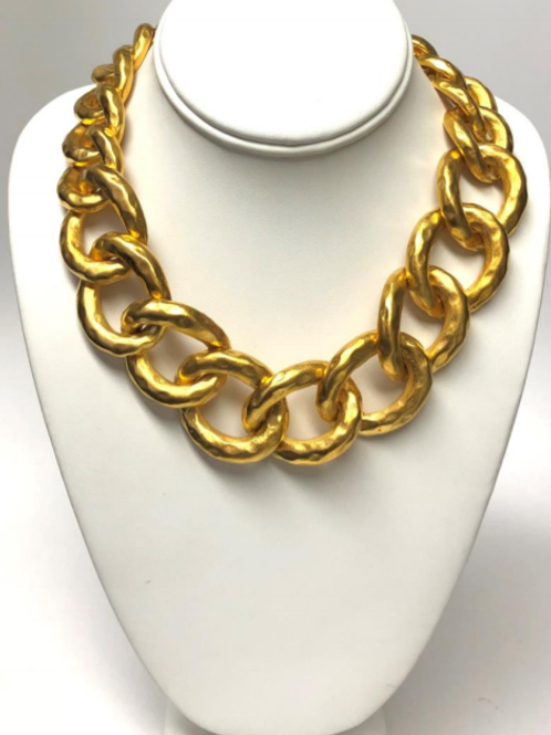 Trendy Chain Necklace Kenneth Jay Lane