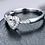 Thumbnail: 18Kt White Gold Diamond Ring